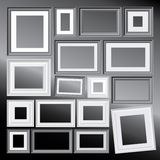 Frames do Bw Foto de Stock