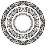 Frames do círculo Imagem de Stock