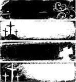 Frames do cristão de Grunge Fotos de Stock
