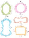Frames do Doodle Imagens de Stock