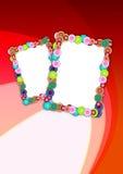 Frames do feriado Imagens de Stock Royalty Free
