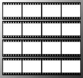 frames do frame da tira da película de 35mm Fotografia de Stock