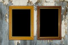Frames do ouro Imagens de Stock Royalty Free