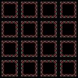Frames do papel de parede do mosaico Imagens de Stock