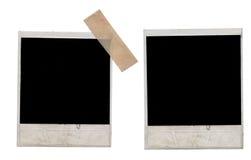 Frames do Polaroid Foto de Stock