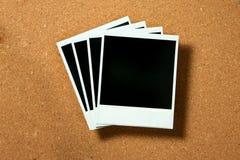 Frames do Polaroid do vintage Fotografia de Stock Royalty Free