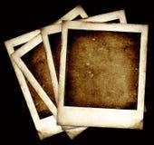 Frames do Polaroid do vintage imagem de stock