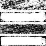 Frames do vetor de Grunge Imagem de Stock Royalty Free
