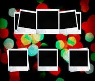 Frames em branco da foto. Álbum do feriado. Fotos de Stock