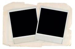Frames em branco da foto Fotografia de Stock