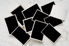 Frames em branco da foto Imagens de Stock