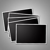 Frames em branco da foto Fotos de Stock Royalty Free