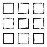 Frames em branco do grunge Fotografia de Stock Royalty Free