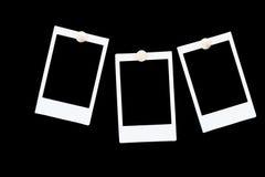 Frames em branco isolados da foto Imagens de Stock