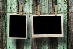 Frames envelhecidos da foto Imagens de Stock Royalty Free