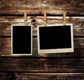 Frames envelhecidos da foto Imagens de Stock