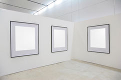 Frames on exhibition Stock Photo