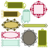 Frames extravagantes Foto de Stock