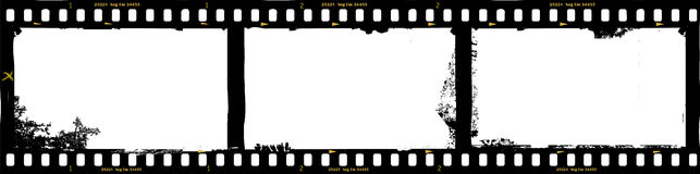 Frames of film, grungy photo frame. Frame of film, grungy photo frame,with free copy space,vector illustration Stock Photography