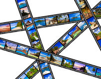 Frames of film - nature and travel (my photos) Stock Photo