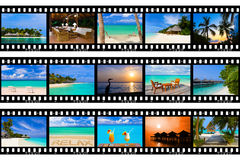 Frames of film - nature and travel (my photos) Royalty Free Stock Photography