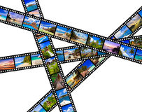 Frames of film - nature and travel (my photos) Stock Photography