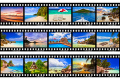 Frames of film - nature and travel (my photos) Stock Photos
