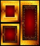Frames florais Fotografia de Stock