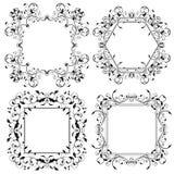 Frames florais Ornamento Filigree ilustração royalty free