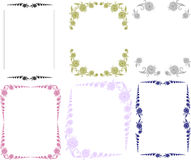 Frames.flowers Royalty Free Stock Image