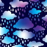Frames in the form of clouds. On background sunlight. Vector illustration Stock Illustration
