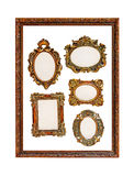 Frames in frame Stock Images