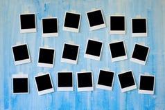Frames imediatos da foto Fotos de Stock