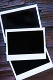 Frames imediatos em branco da foto Fotos de Stock