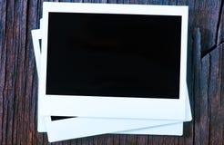 Frames imediatos em branco da foto Fotografia de Stock Royalty Free