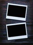 Frames imediatos em branco da foto Imagem de Stock