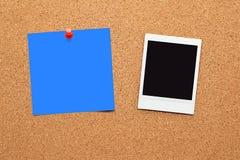Frames imediatos em branco da foto Imagem de Stock Royalty Free