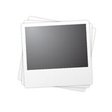 Frames isolados do polaroid Fotografia de Stock Royalty Free