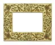Frames are made with fabrics. Stock Photos