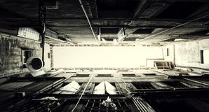 Venetian Architecture Perspective Frames Royalty Free Stock Images