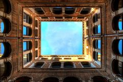 Venetian Architecture Perspective Frames Royalty Free Stock Image