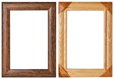 Frames made ​​of wood Royalty Free Stock Photos