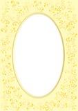 Frames met bijen Stock Foto's