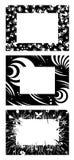 Frames monocromáticos Fotografia de Stock Royalty Free