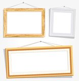 Frames with nails Royalty Free Stock Photo