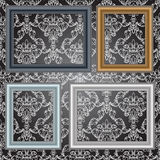 Frames On The Wall. Royalty Free Stock Image