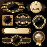 Frames ornamentado luxuosos Imagens de Stock