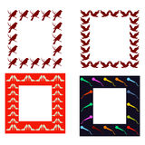 Frames pack Royalty Free Stock Image