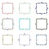 Frames pattern (set95) Royalty Free Stock Image
