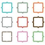 Frames pattern (set99) Stock Photography